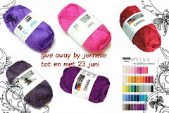 1e blogverjaardag give away bij Jennke