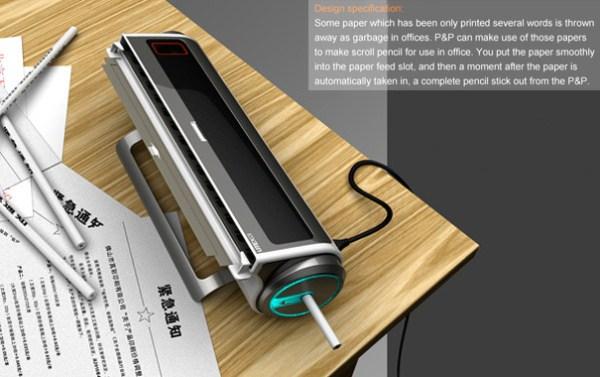 Alat Keren Ini Bisa Mengubah Kertas Menjadi Pensil