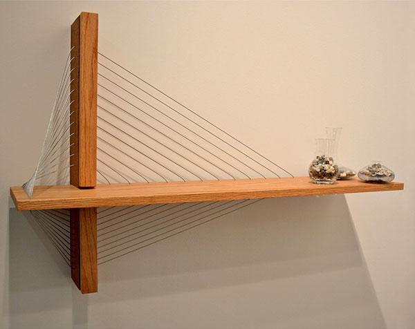 Suspension shelf by robby cuthbert design