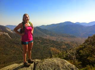 Outdoorsy People Like Emily from the Wench Enjoy the Adirondacks