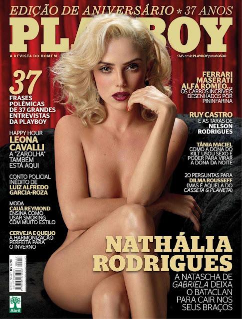 Confira as fotos da musa do Bataclan direto de Gabriela, Nathália Rodrigues, capa da Playboy especial de 37º aniversário, agosto de 2012!