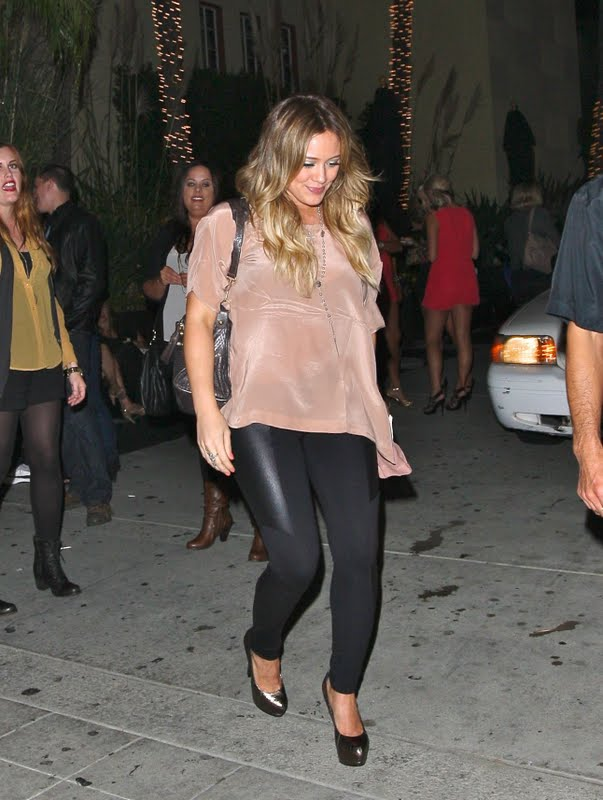 Hilary Duff - Leaves Beachers Madhouse Club in Los Angeles