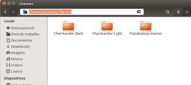 Temas do Ubuntu
