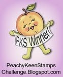 Peachy Keen Stamp Challenge Winner