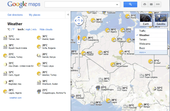 Weather layer in google maps gumiabroncs Image collections