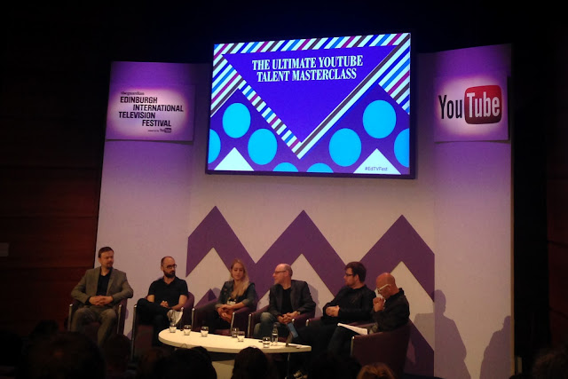 Hello Freckles Edinburgh International Television Festival YouTube Masterclass