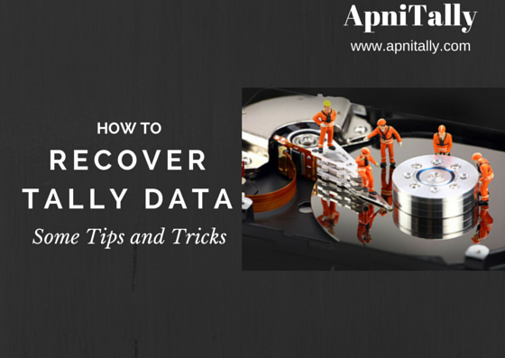 How to Recover Tally Data some Tips and Tricks