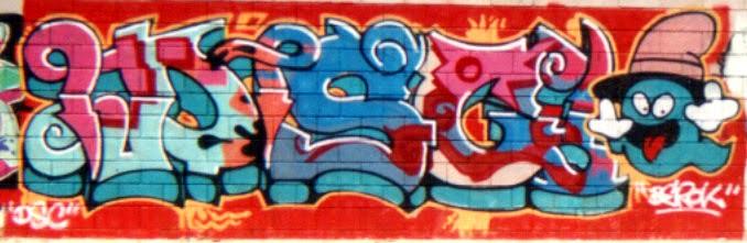 Graffitis Bon Pastor Barcelona