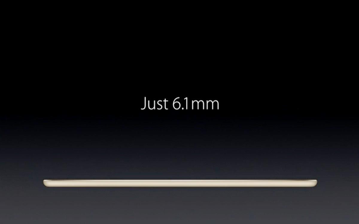 iPad Air 2 il tablet più sottile al mondo.