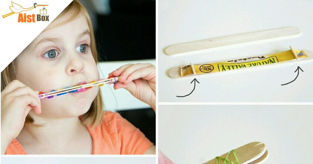 Как сделать губную гармошку руками