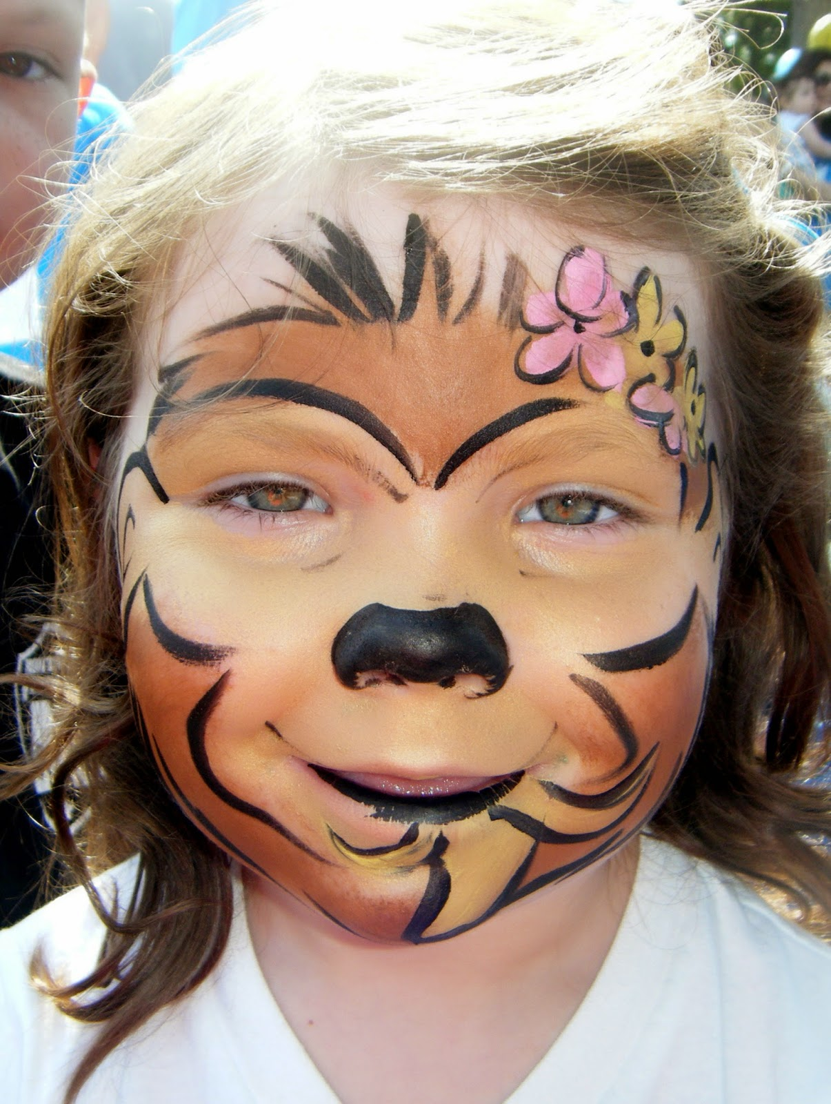 Face Paint Monkey Viewing Gallery