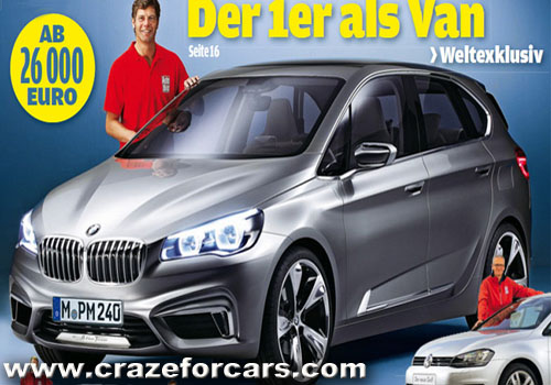 BMW 1 series revealed on European mag?