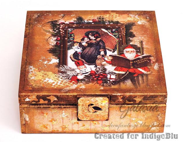 Pudełko na świąteczne skarby