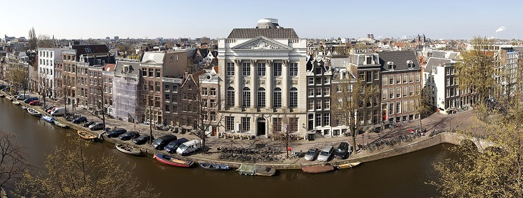 Foto panorama en Felix Meritis aan de Keizersgracht: Thomas Schlijper - http://felixmeritis225jaar.nl/