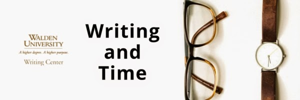 walden writing center literature review