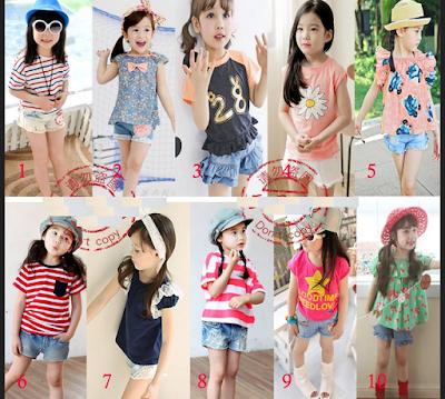 Model Baju Casual Anak Perempuan Untuk Fashion Show