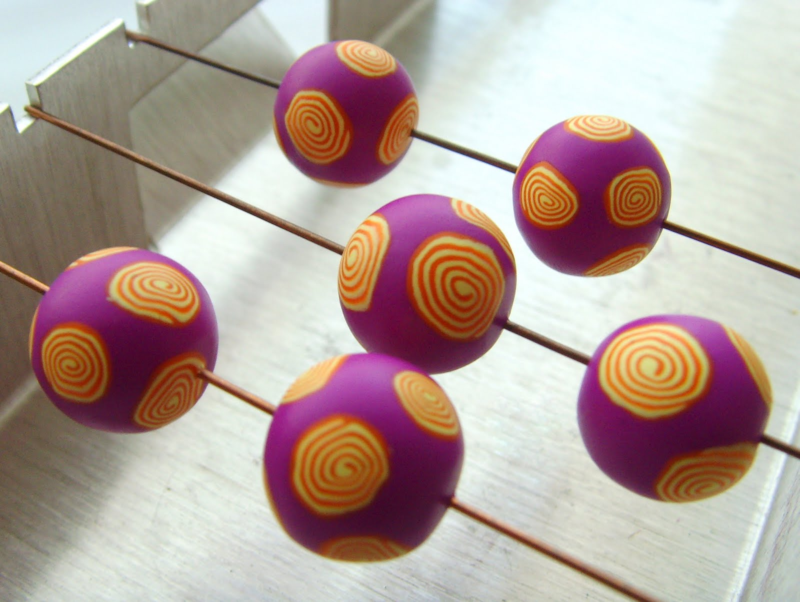 polymer clay basics how to make a spiral the bead