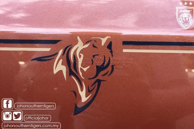 Rolls Royce Southern Tigers yang Badass