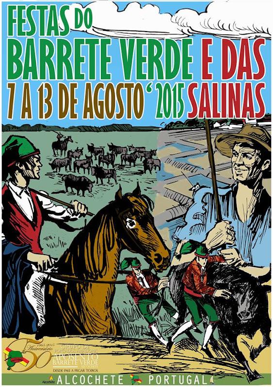 Alcochete: Festas do Barrete Verde e das Salinas 2015: