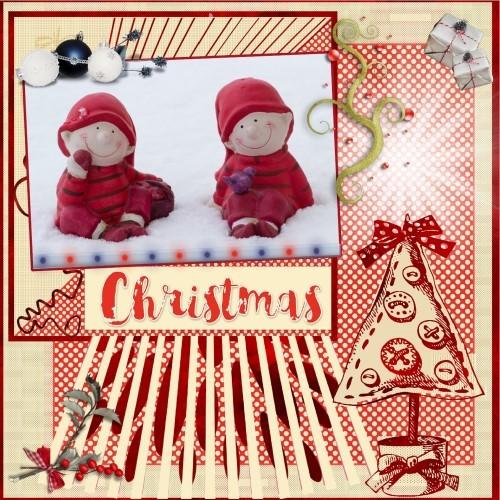 Dec.'15 - lo 3 - Kerst elfjes..