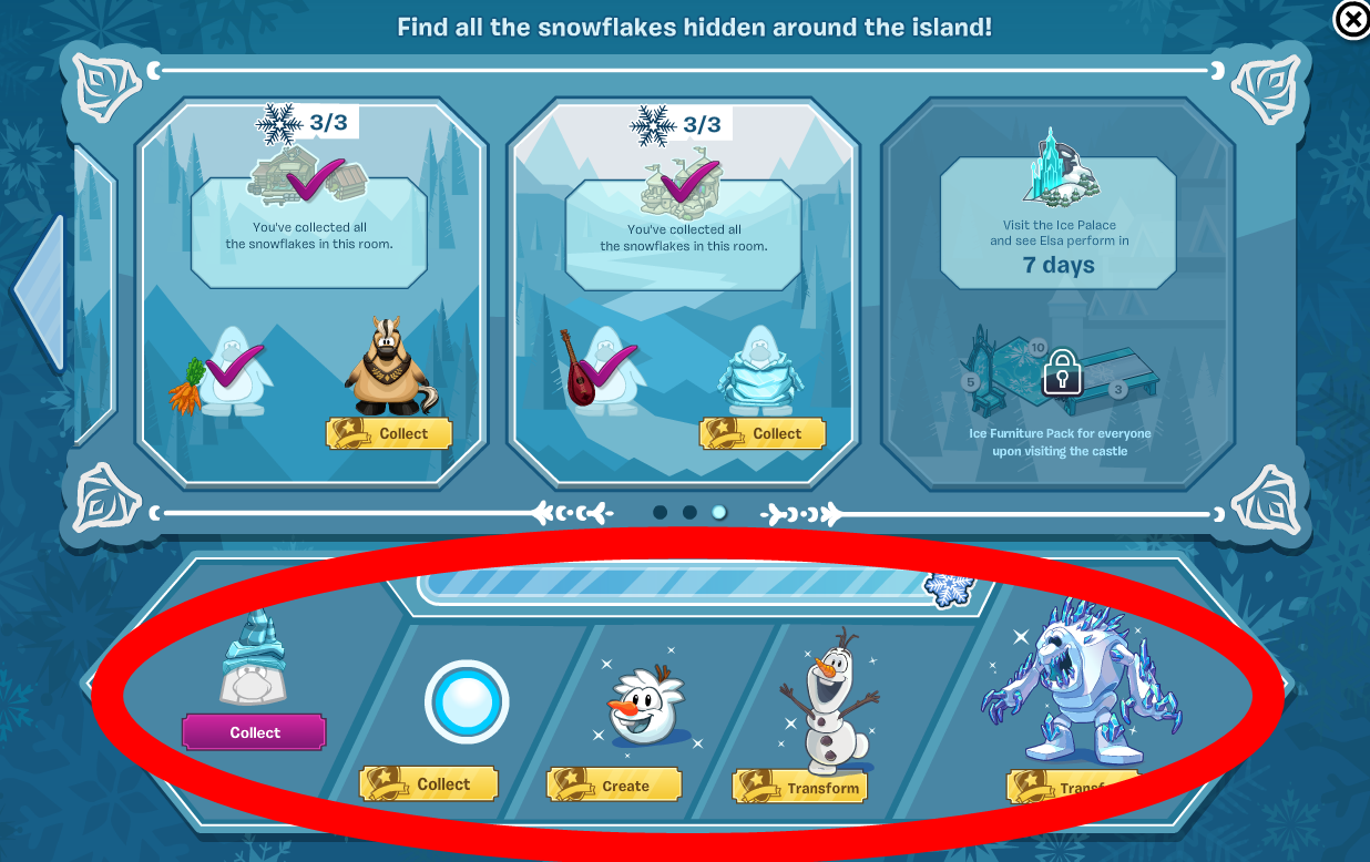 Club Penguin Frozen Party 2014 Cheats