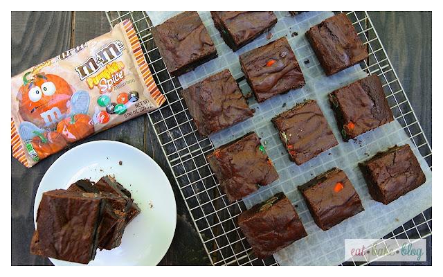dark chocolate brownie recipe m&m brownies thick brownies fudgey brownies