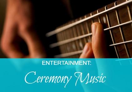 wedding entertainment ceremony music