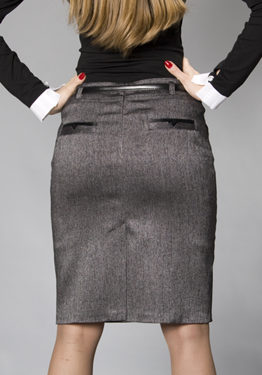Pencil skirt stockings