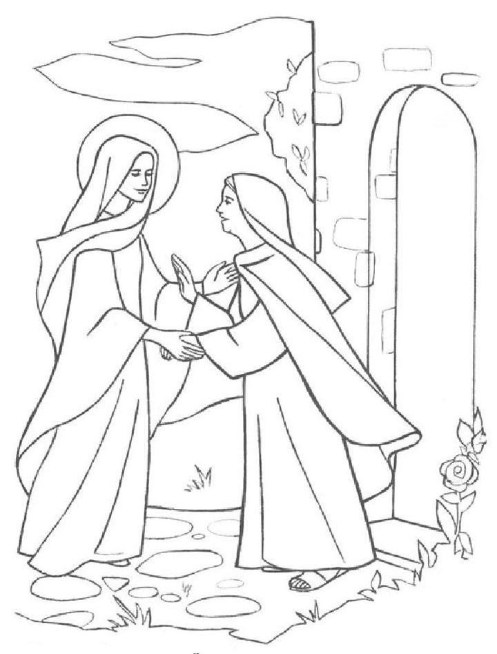 Mar 237 A Visita A Su Prima Isabel Compartiendo Por Amor