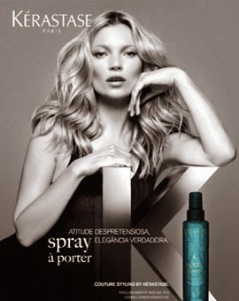 produtos cuidado cabelo Kate Moss kérastase