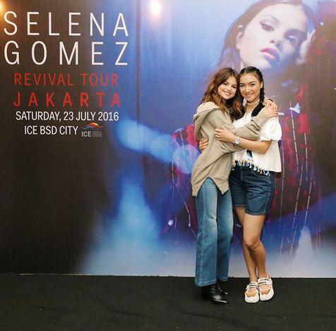 Rambut Citra Kirana Dipuji Selena Gomez