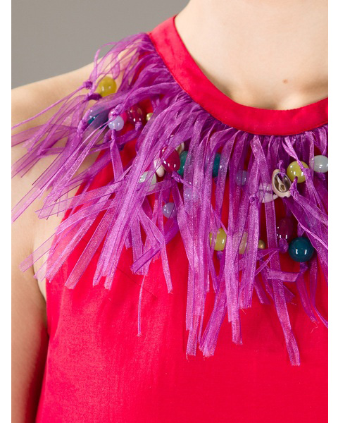 Moschino Cheap & Chic fringes