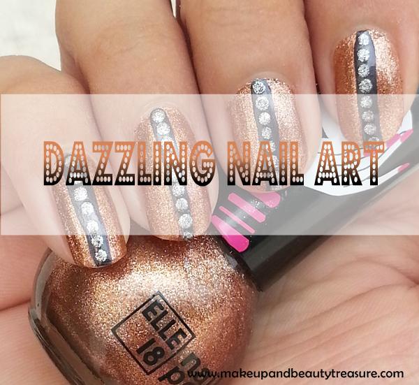Dazzling Nail Art Tutorial