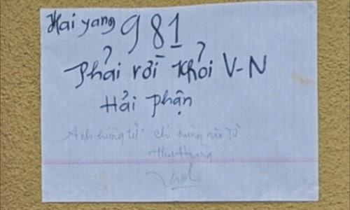 Cụ ông Việt kiều tự thiêu phản đối giàn khoan Trung Quốc