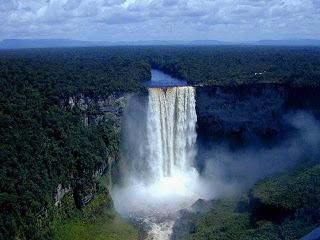 Paisajes espectaculares de canaima venezuela