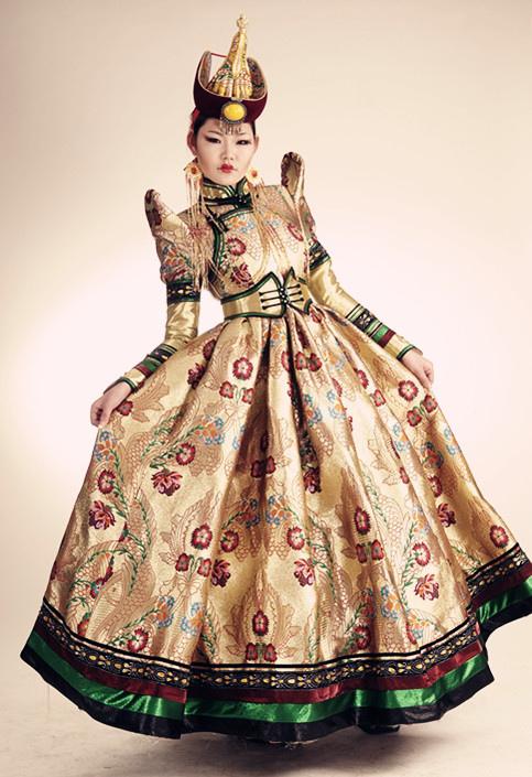 Local Style Mongolian Wedding Dresses