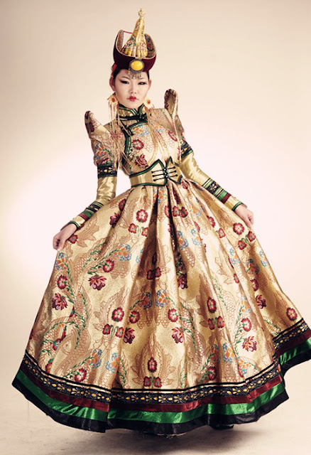 Local fashion mongolian wedding dresses for Local wedding dress designers