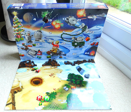 Christmas Advent Calendar, LEGO Star Wars Advent Calendar 2015, Star Wars
