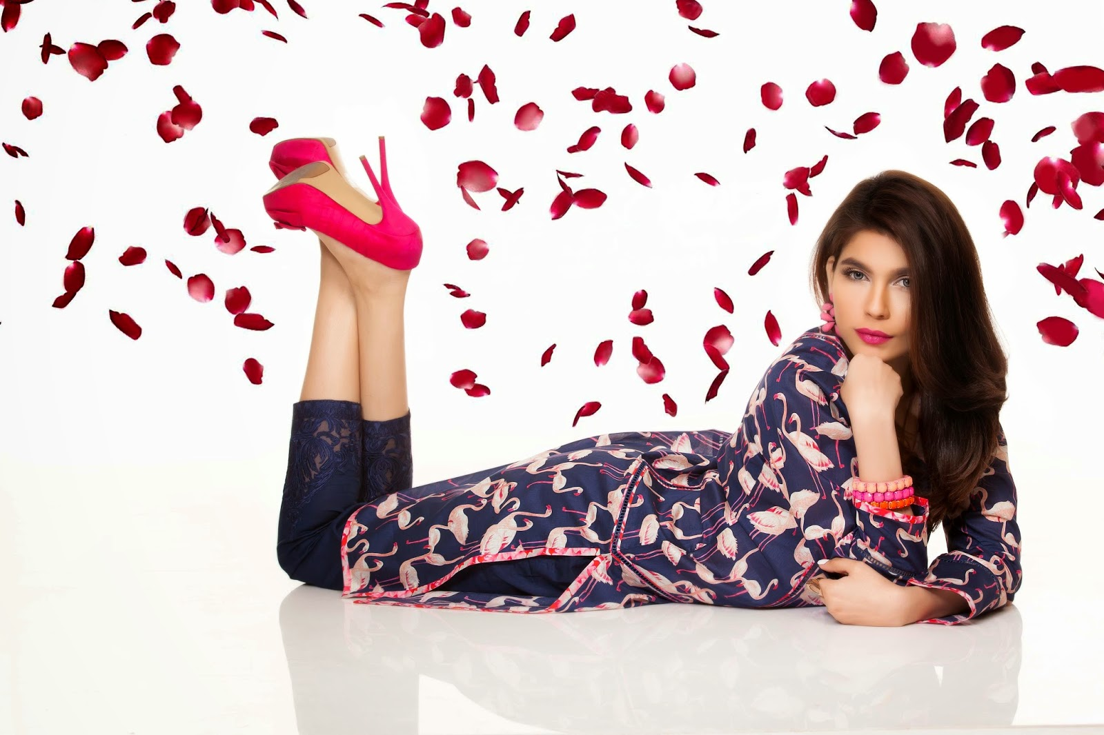 amna babar for sapphire's valentine's collection