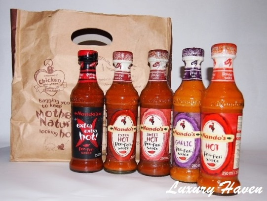 nandos peri-peri chilli sauces recipes