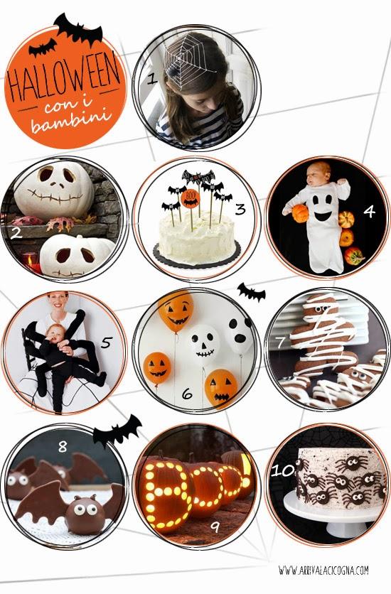idee per la festa di Halloween con i bambini