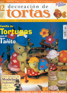 Revista : Decoración de Tortas n.12