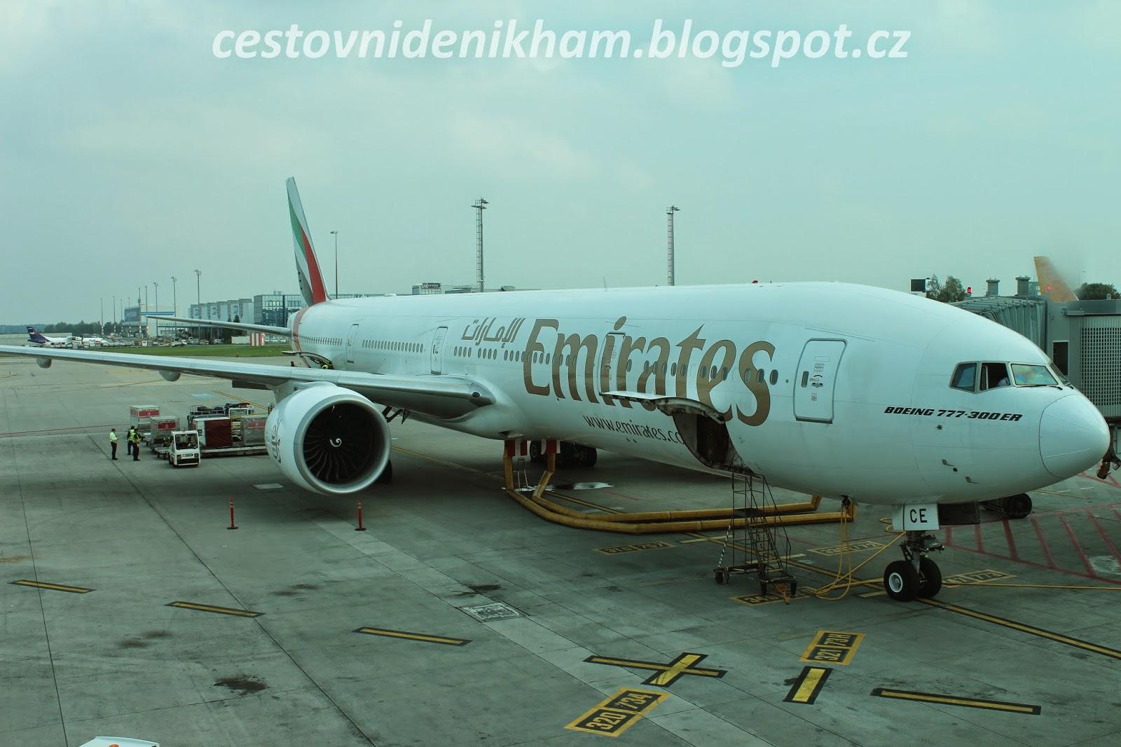 airplane Boeing 777-300 ER
