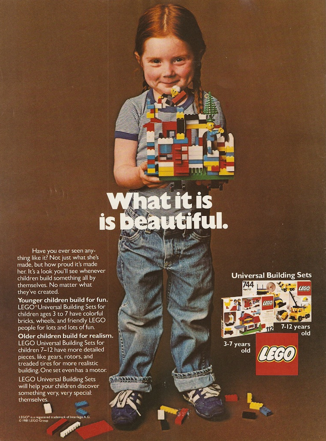 Power of Play - Lego Ad