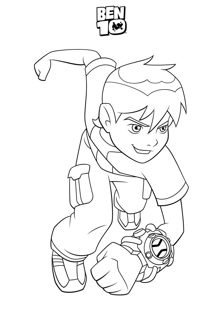 ben 10 coloring pages upgrade - ben 10 drawing pictures drawing pictures
