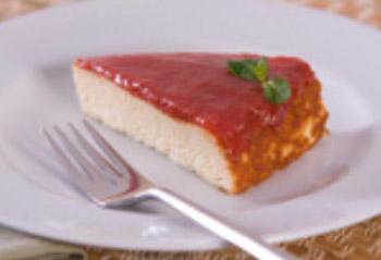 Receita de Torta de queijo e goiabada