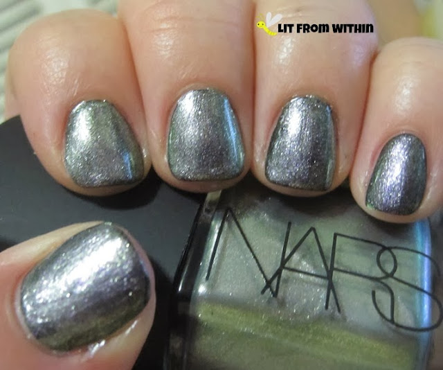 NARS Disco Inferno over Cult Nails Fetish