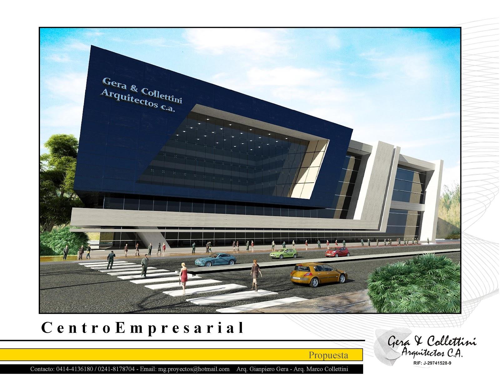 Gera collettini arquitectos c a servicios de for Empresas de arquitectura