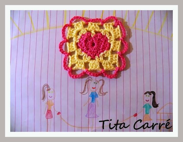 Crochet com amor de mãe para filha