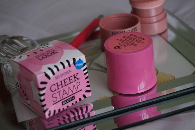 Cheek Stamps | Seventeen | Victoria Alice Blogs